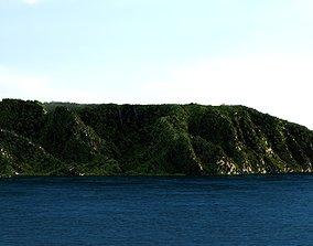 3D Isla Nublar Jurassic Park Island