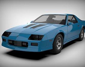 Chevrolet Camaro Iroc-Z 1990 3D asset low-poly