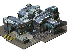 Heterogeneous - Building - Building B Building 01 3D model