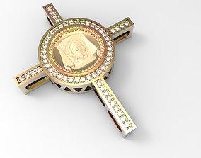 jesus Jesus Cross STL 3D print model