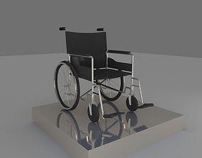3D model medicine wheelchair
