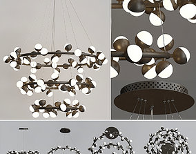 Pendant Lights 3D model lightning