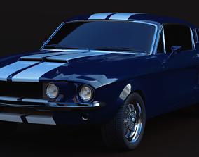3D model 1967 Shelby Mustang GT500