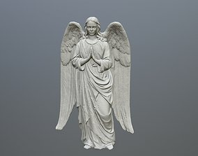 3D printable model Angel Statue 04