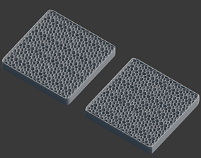 Honey Comb mesh 3D print model