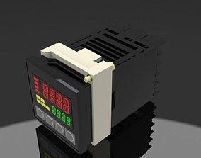 OMRON Temperature Display 3D