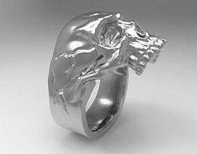 rings 3D printable model 0531 Skull Ring