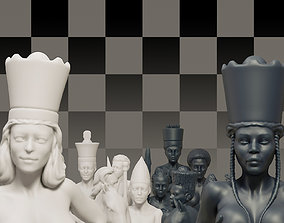 3D print model Beautiful Chess Female