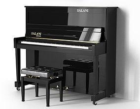 3D model Piano SALANI Cento