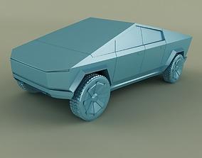 Tesla Cybertruck 3D Print model
