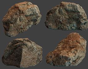 3D asset Boulder Stone