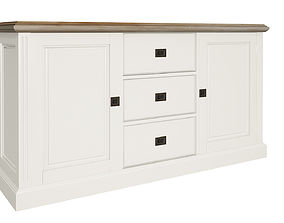 White cabinets 3D