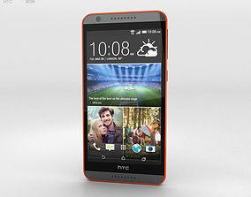 3D HTC Desire 820 Saffron Grey