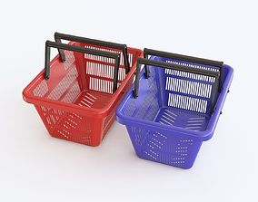 3D Shopping basket 01