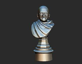 scanned Ivory Gandhi v1 3DP