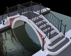 Venice bridge 3D