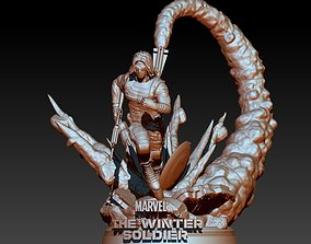 3D printable model Winter Soldier Marvel