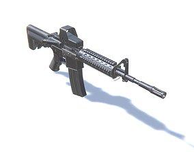 3D model Assault Rifle AR M4