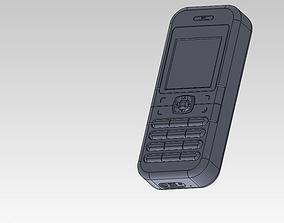 model 3D Nokia mobile phone