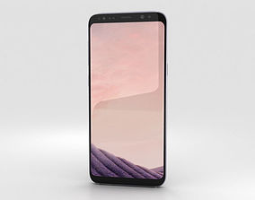 Samsung Galaxy S8 Orchid Gray 3D