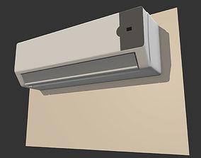 Air Conditioner Interior Unit 3D asset