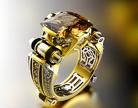 Fashion ring unisex 0101 3D print model