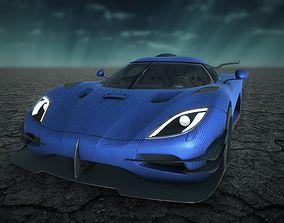Koenigsegg One 1 Carbon 3D model