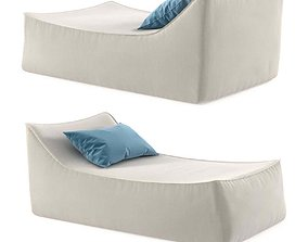 Restoration Hardware IBIZA CHAISE 3D