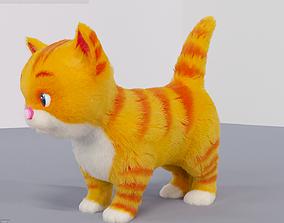 3D asset Fur Cute Cat kitten