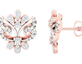 Women earrings 3dm stl render detail 3D 2