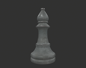 3D model CHES-009 Chess Bishop White