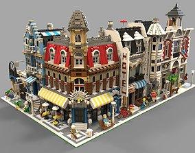 3D asset Lego City