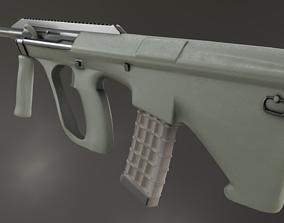 3D model game-ready Austeyr Steyr AUG A3