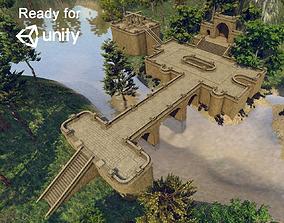 Medieval Modular Level Kit 3D model