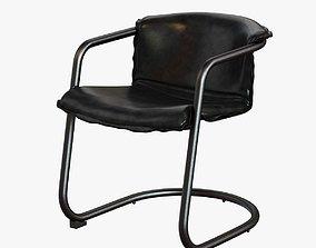 Slate Cantilever Chair 3D