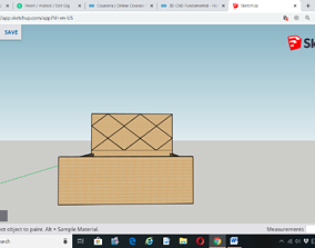 Single Bed Design living 3D printable model
