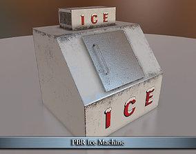 PBR Ice Machine 3D model