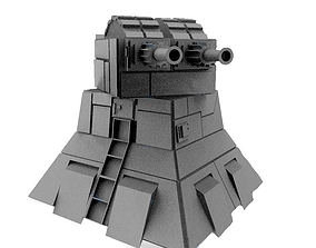Star wars Turbolaser tower 3D print model