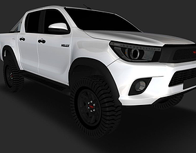 3D model 2018 Toyota Hilux TRD Edition
