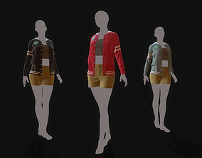 3D Marvelous Designer Clothes - 15 Sweater Outerwear