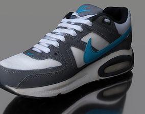 low-poly Sneaker 3D model low poly low-poly