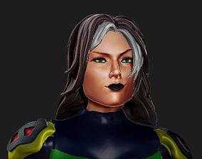 3D printable model Rogue X-Men Evolution Battle Suit