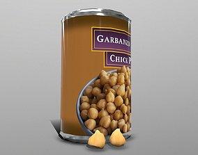 3D model Garbanzo Beans