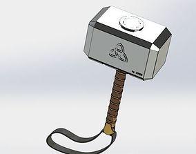 tool 3D print model thor hammer