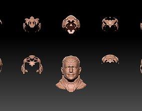 3D model BRAINIAC HEAD