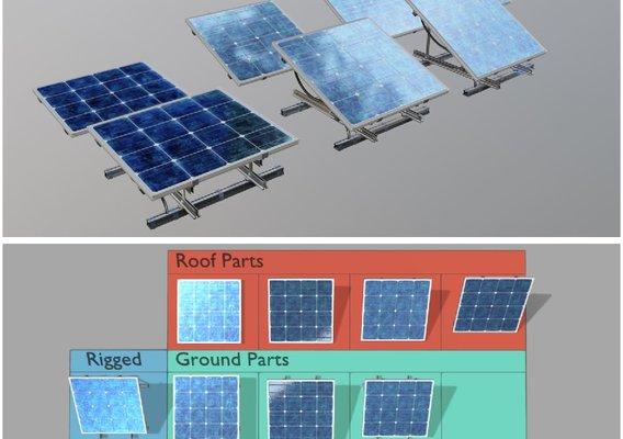 Rigged Solar Panels 4x4