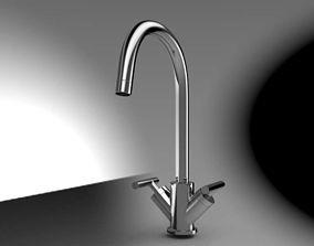 3D model Kitchen Faucet kitchen-sink