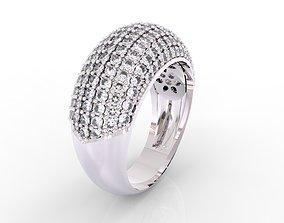 Sophisticated pump shiny ring 3D print model