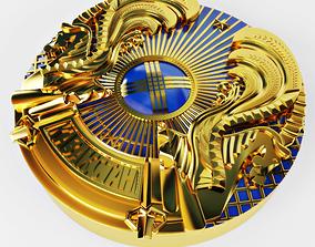 National emblem 3D model