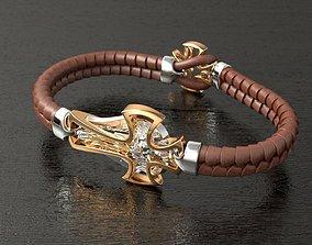 3D printable model Archangel Michael bracelet BR0001
